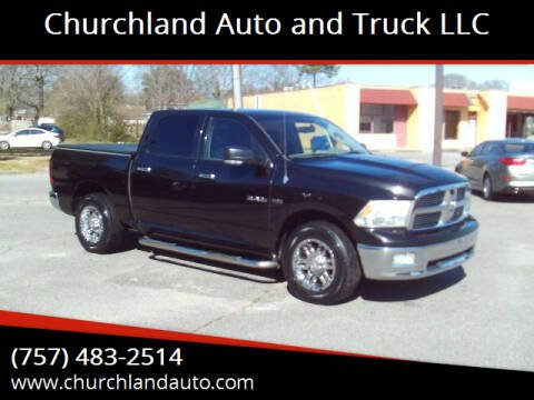 2009 Dodge Ram Pickup 1500 for sale at Churchland Auto and Truck LLC in Portsmouth VA