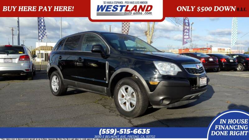 2008 Saturn Vue for sale at Westland Auto Sales on 7th in Fresno CA