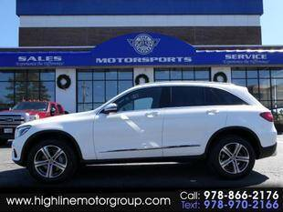 2018 Mercedes-Benz GLC for sale at Highline Group Motorsports in Lowell MA