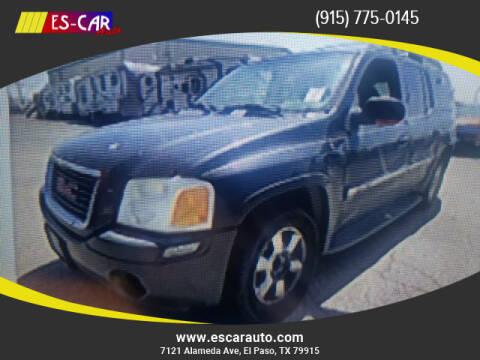 2003 GMC Envoy XL for sale at Escar Auto in El Paso TX