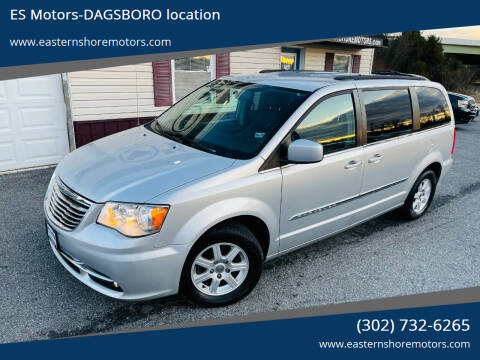 2012 Chrysler Town and Country for sale at ES Motors-DAGSBORO location in Dagsboro DE