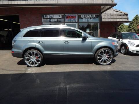 2007 Audi Q7 for sale at AUTOWORKS OF OMAHA INC in Omaha NE