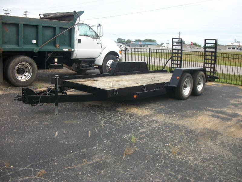 2016 Betterbuilt 6 ton Tagalong Trailer for sale at Classics Truck and Equipment Sales in Cadiz KY