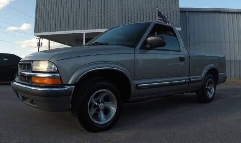 2002 Chevrolet S-10 for sale at Darryl's Trenton Auto Sales in Trenton TN