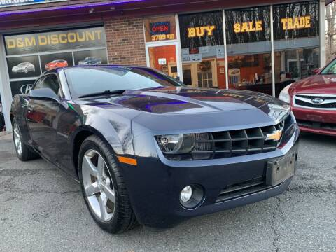 2013 Chevrolet Camaro for sale at D & M Discount Auto Sales in Stafford VA