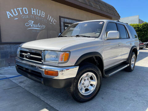 1998 Toyota 4Runner for sale at Auto Hub, Inc. in Anaheim CA