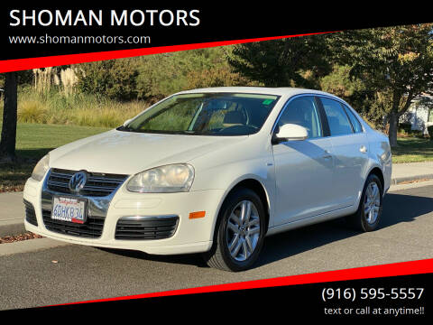 2007 Volkswagen Jetta for sale at SHOMAN MOTORS in Davis CA