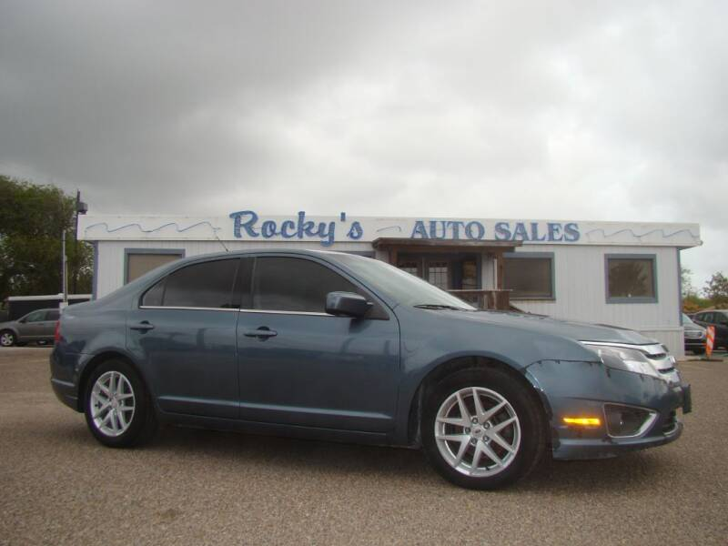2012 Ford Fusion for sale at Rocky's Auto Sales in Corpus Christi TX