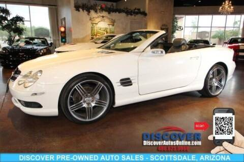 2006 Mercedes-Benz SL-Class for sale at Discover Pre-Owned Auto Sales in Scottsdale AZ