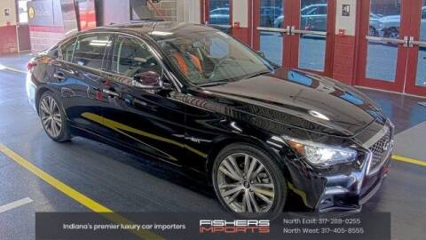 2019 Infiniti Q50 for sale at Fishers Imports in Fishers IN
