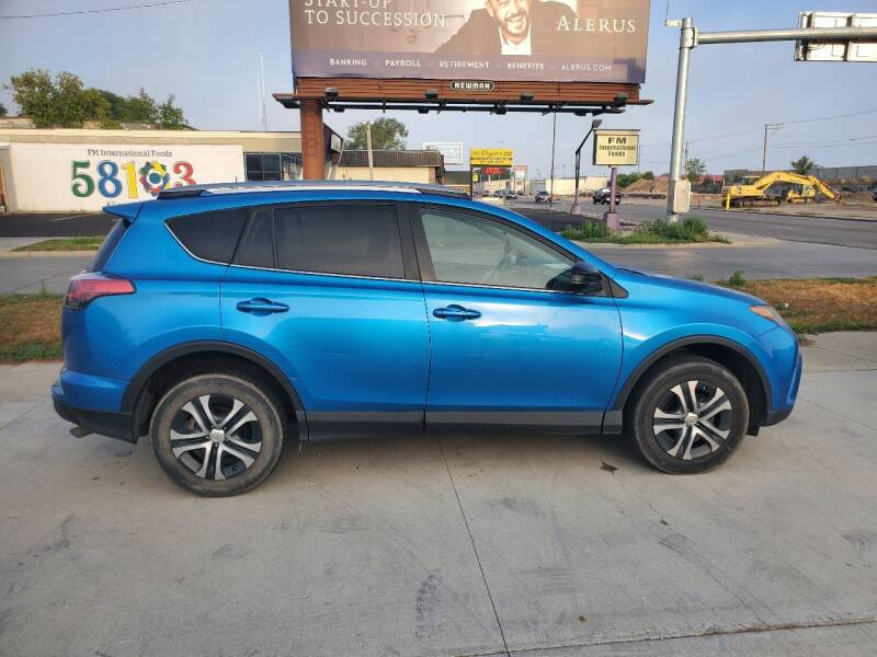 2018 Toyota RAV4 for sale at GOOD NEWS AUTO SALES in Fargo ND