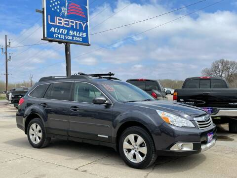 2012 Subaru Outback for sale at Liberty Auto Sales in Merrill IA