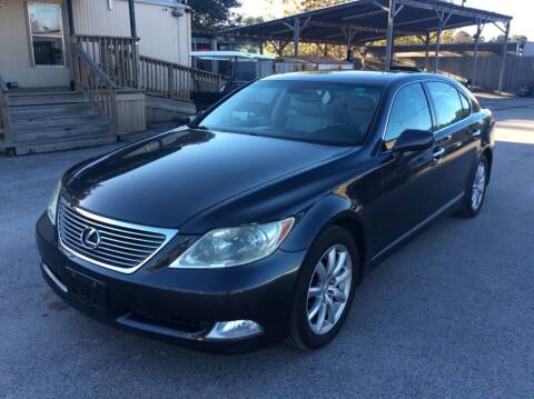 2008 Lexus LS 460 for sale at OASIS PARK & SELL in Spring TX