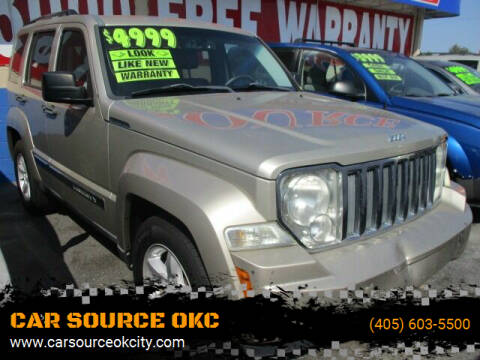 2011 Jeep Liberty for sale at CAR SOURCE OKC in Oklahoma City OK