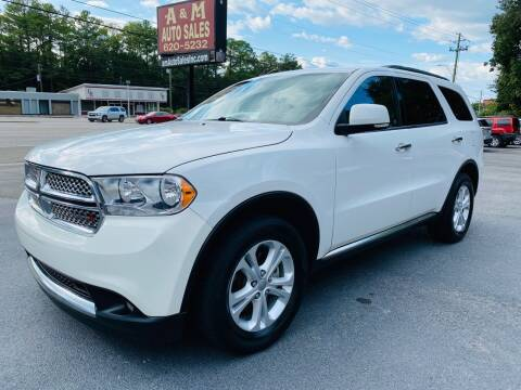 2013 Dodge Durango for sale at A & M Auto Sales, Inc in Alabaster AL