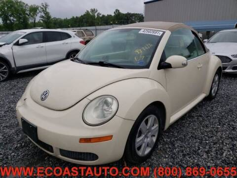 2007 Volkswagen New Beetle Convertible for sale at East Coast Auto Source Inc. in Bedford VA