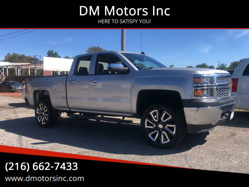 2015 Chevrolet Silverado 1500 for sale at DM Motors Inc in Maple Heights OH