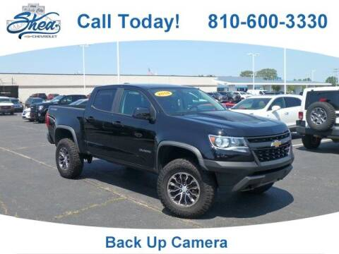 2018 Chevrolet Colorado for sale at Erick's Used Car Factory in Flint MI