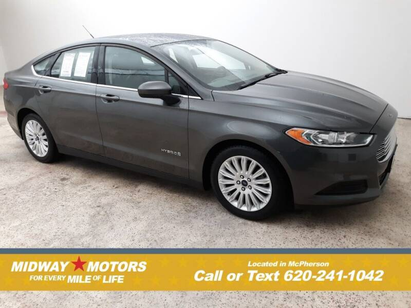 2016 Ford Fusion Hybrid for sale in Mcpherson, KS