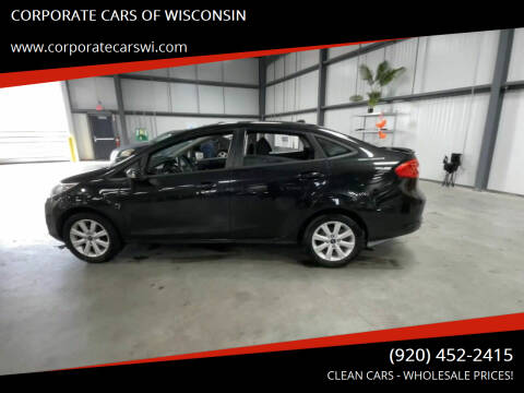 2013 Ford Fiesta for sale at CORPORATE CARS OF WISCONSIN - DAVES AUTO SALES OF SHEBOYGAN in Sheboygan WI