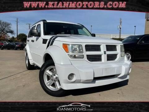 2011 Dodge Nitro for sale at KIAN MOTORS INC in Plano TX