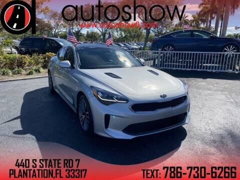 2018 Kia Stinger for sale at AUTOSHOW SALES & SERVICE in Plantation FL