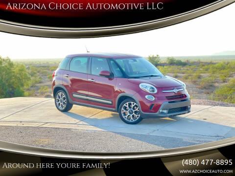2015 FIAT 500L for sale at Arizona Choice Automotive LLC in Mesa AZ