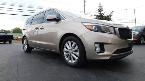 2015 Kia Sedona for sale at Action Automotive Service LLC in Hudson NY