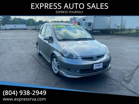 2007 Honda Fit for sale at EXPRESS AUTO SALES in Midlothian VA