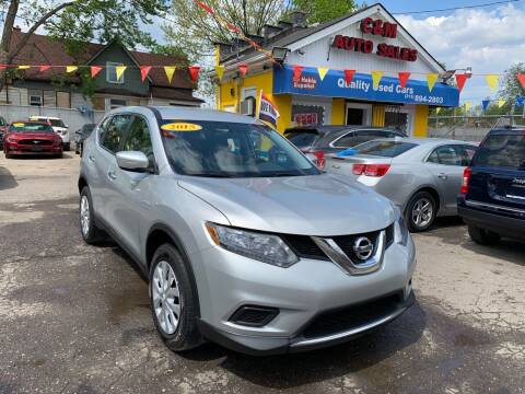 2015 Nissan Rogue for sale at C & M Auto Sales in Detroit MI