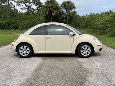2009 Volkswagen New Beetle for sale at D & D Used Cars in New Port Richey FL