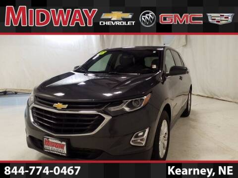 2018 Chevrolet Equinox for sale at Midway Auto Outlet in Kearney NE