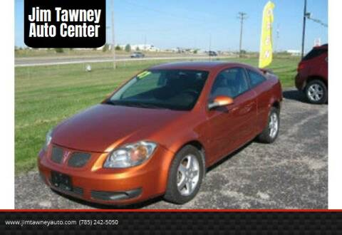 2007 Pontiac G5 for sale at Jim Tawney Auto Center Inc in Ottawa KS