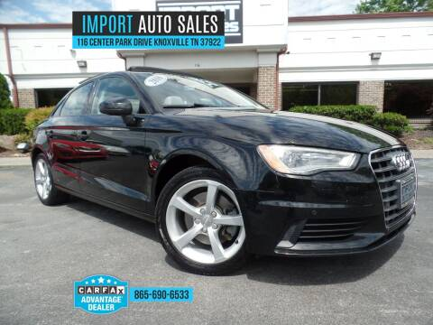 2016 Audi A3 for sale at IMPORT AUTO SALES in Knoxville TN