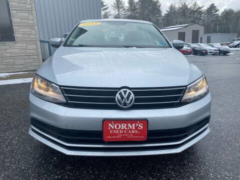 2015 Volkswagen Jetta for sale at NORM'S USED CARS INC in Wiscasset ME