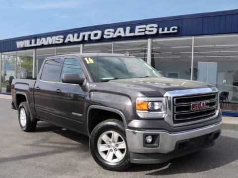 2015 GMC Sierra 1500 for sale at Williams Auto Sales, LLC in Cookeville TN