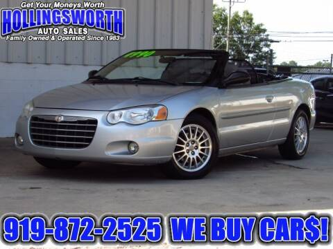 2005 Chrysler Sebring for sale at Hollingsworth Auto Sales in Raleigh NC