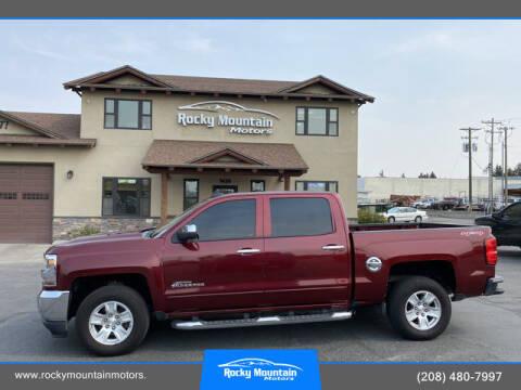 2017 Chevrolet Silverado 1500 for sale at Rocky Mountain Motors in Idaho Falls ID