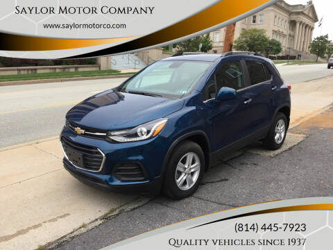 2020 Chevrolet Trax for sale at Saylor Motor Company in Somerset PA