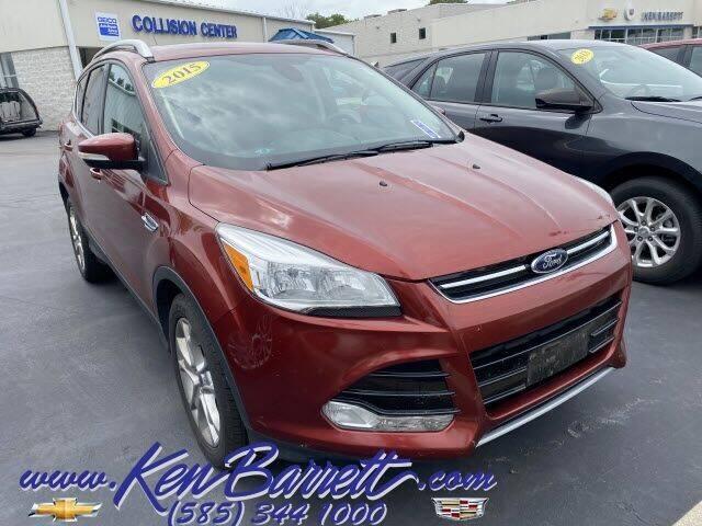 2015 Ford Escape for sale at KEN BARRETT CHEVROLET CADILLAC in Batavia NY