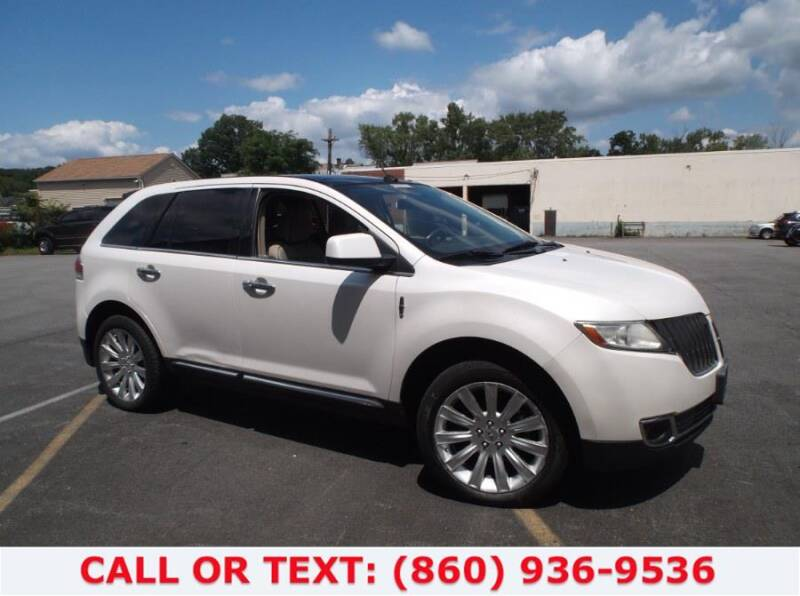 2011 Lincoln MKX for sale at Lee Motor Sales Inc. in Hartford CT