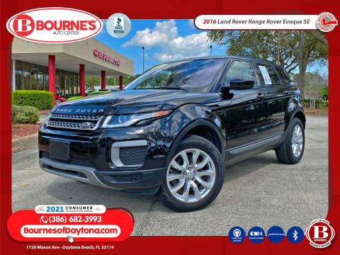 2016 Land Rover Range Rover Evoque for sale at Bourne's Auto Center in Daytona Beach FL