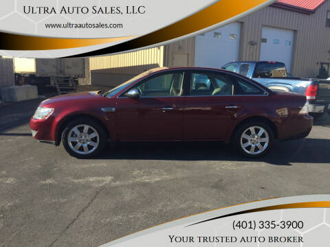 2008 Ford Taurus for sale at Ultra Auto Sales, LLC in Cumberland RI