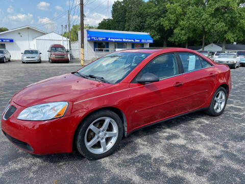 2006 Pontiac G6 for sale at Augusta Motors Inc in Indianapolis IN