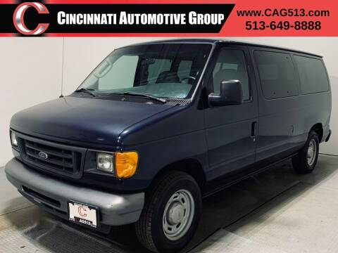 2005 Ford E-Series Wagon for sale at Cincinnati Automotive Group in Lebanon OH