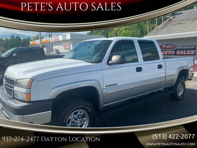 2006 Chevrolet Silverado 2500HD for sale at PETE'S AUTO SALES - Dayton in Dayton OH