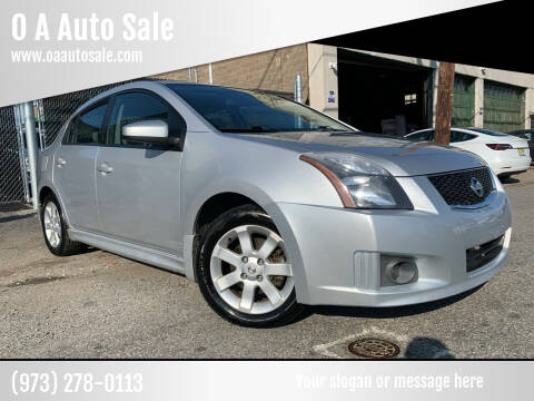 2011 Nissan Sentra for sale at O A Auto Sale in Paterson NJ