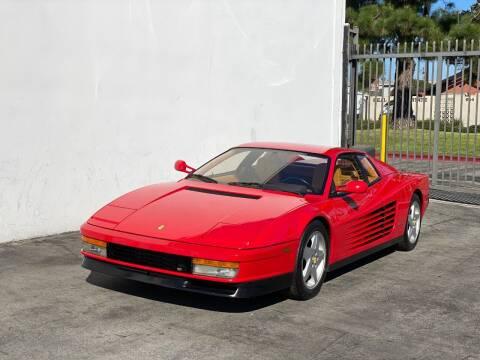 1989 Ferrari Testarossa for sale at Corsa Exotics Inc in Montebello CA
