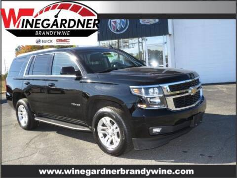 2019 Chevrolet Tahoe for sale at Winegardner Auto Sales in Prince Frederick MD