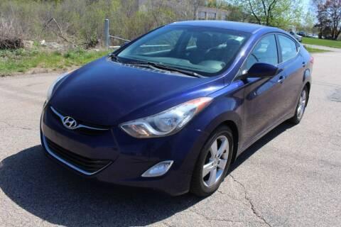 2012 Hyundai Elantra for sale at Imotobank in Walpole MA